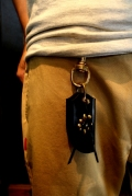 DEXTER 「LEATHER KEY RING」 レザーキーリング