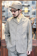 TROPHY CLOTHING/トロフィークロージング 「Continental Coverall」 ヒッコリーカバーオール