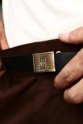 GLAD HAND JEWELRY/グラッドハンドジュエリー  「SLIDE LOCK BUCKLE BELT」  スライドロックバックルベルト