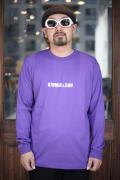 AMERICAN WANNABE/アメリカンワナビーオリジナル  「AOTS Logo」  クルーネック L/S Tシャツ