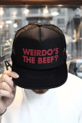 WEIRDO/ウィアード 「Weirdo's the Beef?? - MESH CAP」  メッシュキャップ