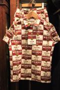 WEIRDO/ウィアード   「WRD CANS - Kids S/S SHIRTS」   オリジナルコットンブロードシャツキッズサイズ