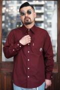 WEIRDO/ウィアード   「MONSTERS - L/S SHIRTS」   コットンL/Sシャツ