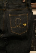 QUEEN BEE  「Q.B HIGH WEST STRECH SLIM DENIM」  ストレッチデニムパンツNON WASH