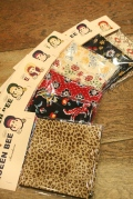 QUEEN BEE  「Q.B Large-bandana」  バンダナ