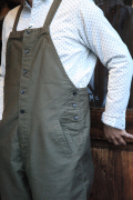 BLACK SIGN/ブラックサイン  「Old German Cord Button Fly Apron Over-alls」  エプロンオーバーオールズ