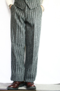 TROPHY CLOTHING/トロフィークロージング  「AC Harris Tweed Trousers」 ハリスツイードトラウザー