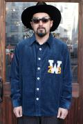 WEIRDO/ウィアード   「W COLLEGE - L/S SHIRTS」   コーデュロイL/Sシャツ