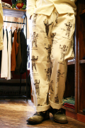 WEIRDO/ウィアード   「WEIRDO COSTUMES - EASY PANTS」 総柄イージーパンツ