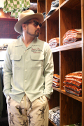 WEIRDO/ウィアード   「MECHANICAL TOYS - L/S SHIRTS」  テンセルツイル繍L/Sシャツ