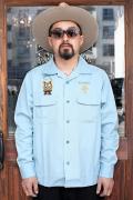 WEIRDO/ウィアード   「WEIRDOZ - L/S WORK SHIRTS」   オープンカラーワークL/Sシャツ