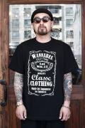 AMERICAN WANNABE/アメリカンワナビー 「Old Label 」  クルーネックTシャツ