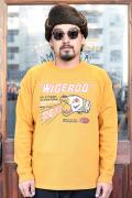 WEIRDO/ウィアード   「WIGERCO -  CREW NECK SWEAT」   フットボールスウェット