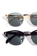 丹羽雅彦×GLAD HAND 「 COLLINS - GLASSES 」  セルロイド×メタル眼鏡