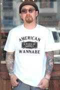 AW ORIGINAL/アメリカンワナビーオリジナル 「A Place Of Supply」  クルーネックTシャツ