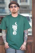 AW ORIGINAL/アメリカンワナビーオリジナル  「The Cat」  クルーネックTシャツ