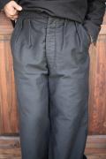 BLACK SIGN/ブラックサイン   「MoleSlin Wide Gurkha Pant」  モールスキングルカパンツ