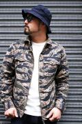 TROPHY CLOTHING/トロフィークロージング  「Tigerstripe Fatigue Jacket」  タイガーカモジャケット