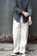 TROPHY CLOTHING/トロフィークロージング  「Naturally Duck Waist Overall」  ナチュラリーダックワイドパンツ