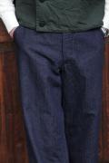 BLACK SIGN/ブラックサイン   「10oz Indigo Herringbone Marine Trousers」  インディゴヘリンボーントラウザーズ