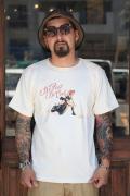TROPHY CLOTHING/トロフィークロージング  「Dirt Track Lady Tee」  コラボレーションTシャツ
