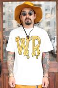WEIRDO/ウィアード  「BIG W.R. - S/S T-SHIRTS」  クルーネックティーシャツ