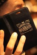 AMERICAN WANNABE/アメリカンワナビー 「LEATHER i Phone Case」  レザーi Phoneケース