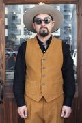 "TENDERLOIN × The Stylist Japan ""MOLESKIN VEST"" モールスキンベスト"