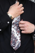 TENDERLOIN × The Stylist Japan 「Wolf Pattern Tie」 ウルフ柄ネクタイ
