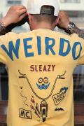 WEIRDO/ウィアード  「ROAD FREAK SLEAZY - S/S T-SHIRTS」  クルーネックティー