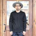 BLACK SIGN/ブラックサイン 「 Heavy Fleece Lumberman's Shirt 」 フリースヘンリーネックシャツ