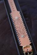 BLACK SIGN/ブラックサイン  「Union Ticket Studs Bracelet」  レザースタッズブレスレット