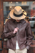 "GANGSTERVILLE/ギャングスタービル    「STAY SHARP G - JACKET ""COW HIDE""」   牛革レザージャケット"