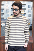 TROPHY CLOTHING/トロフィークロージング  「Narrow Border L/S Tee」  ボーダーL/Sティー