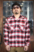 TROPHY CLOTHING/トロフィークロージング   「Frisco Shaggy Wool L/S Shirts」  シャギーウールフリスコシャツ