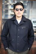 BLACK SIGN/ブラックサイン  「Button Up Drivers Jacket」  スポーツジャケット