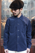 TROPHY CLOTHING/トロフィークロージング  「Cord Skipper L/S Shirts」  コーデュロイシャツ