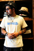 AMERICAN WANNABE ×CNFS  「AW 3rd ANNI S/S TEE」  アメリカンワナビーロゴTEE