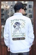 AMERICAN WANNABE/アメリカンワナビー  「Cigarettes Coaches Jacket 」 コーチジャケット