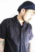 BLACK SIGN/ブラックサイン  「Crocodile Jacquard Mid 30's Double Pocket Shirt」  クロコダイルジャガードシャツ