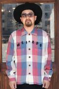 WEIRDO/ウィアード   「RUSTIC - L/S SHIRTS」   コットンチェックシャツ