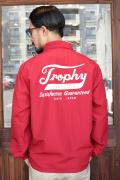 TROPHY CLOTHING/トロフィークロージング   「Classic Logo Warm Up Jacket」  60/40クロスコーチジャケット