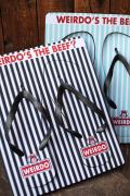 WEIRDO/ウィアード  「WINDY'S - BEACH SANDAL」  ピーチサンダル