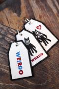 WEIRDO/ウィアード  「WEIRDO - TAG KEY FOB」 タグキーホルダー