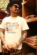 WEIRDO/ウィアード  「POPCORN BOY - S/S T-SHIRTS」  プリントTシャツ