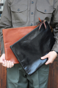 TROPHY CLOTHING/トロフィークロージング  「Horsehide Utility Pouch」  レザーポーチ