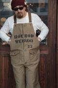 WEIRDO/ウィアード   「HOT WRD -OVERALL 」 デッキオーバーオール
