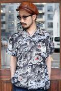 BLACK SIGN/ブラックサイン 「1950s S/S Hundred Tiger Shirt」  スポーツシャツ