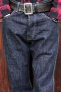 TROPHY CLOTHING/トロフィークロージング  「1604 Waist Overall Dirt Denim」  ワイドシルエットデニム