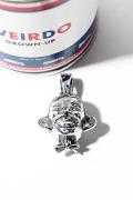 WEIRDO JEWELRY/ウィアードジュエリー  「 HEAD - TOP HEAD DRUNKER HEAD」  ペンダントトップ